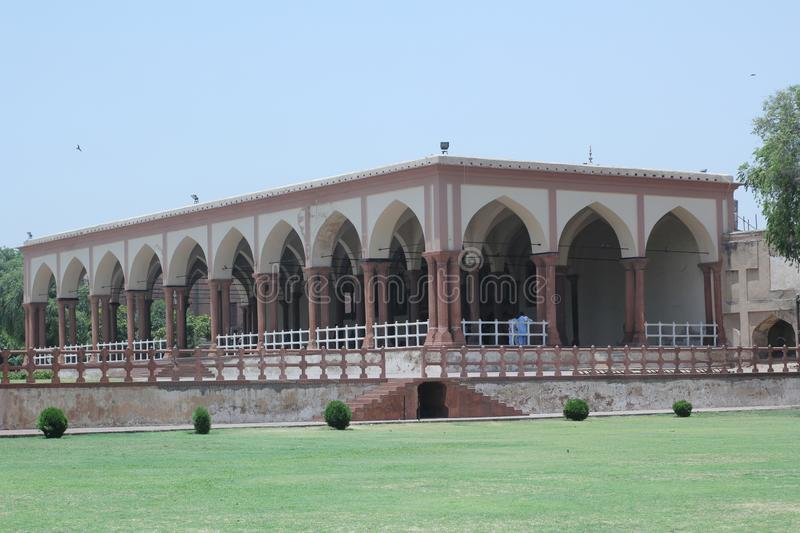 Lahore fort stock photo