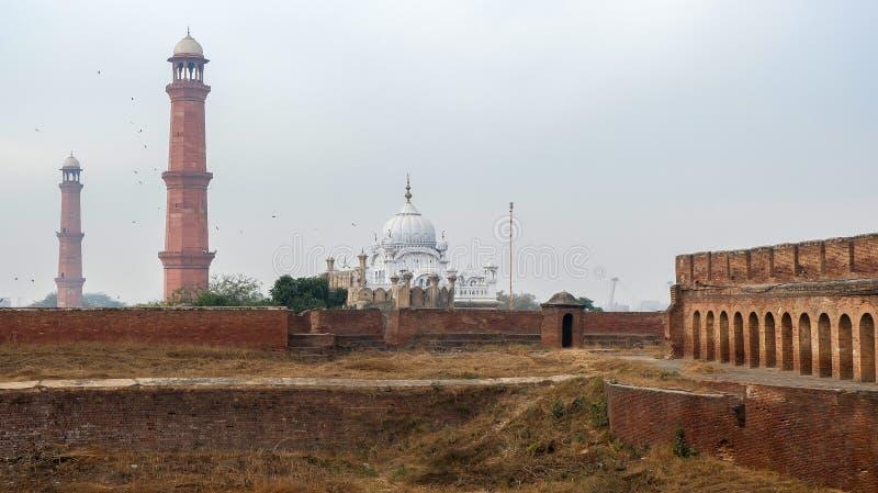 Lahore-Fort in Pakistan lizenzfreie stockfotos