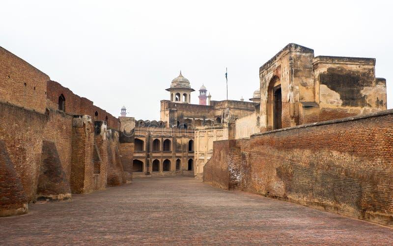 Lahore-Fort in Pakistan lizenzfreie stockfotografie
