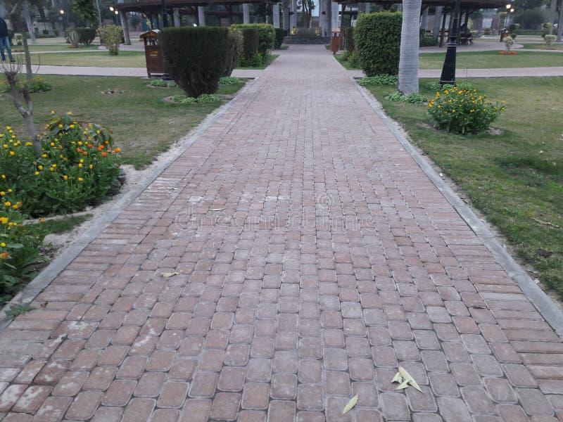 Lahore ogródu miasteczka park zdjęcia royalty free