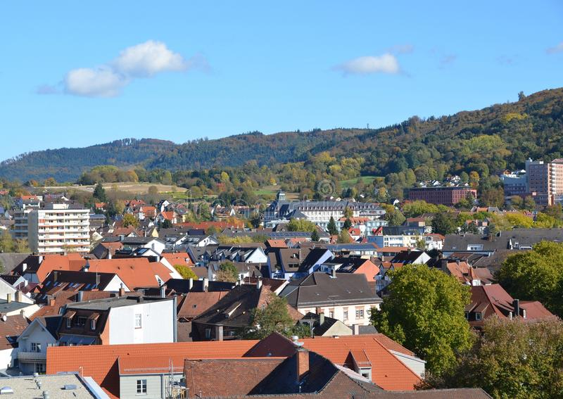 Download Lahr городское, воздушный стоковое фото. изображение насчитывающей город - 81805890