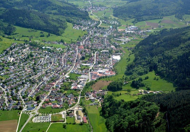 Lahr Seelbach, antenne de Baden images stock