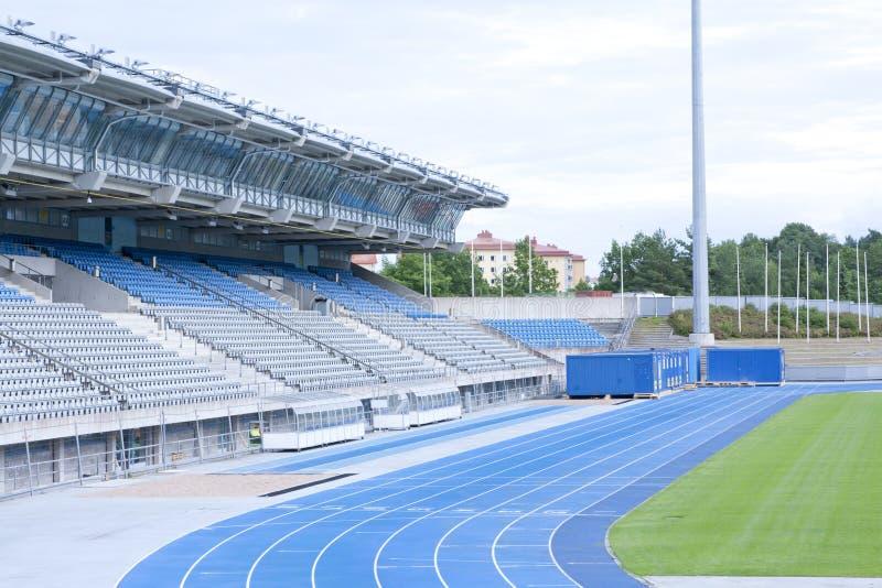 LAHTI, FINLANDIA 20 2015 LIPIEC stadium obrazy royalty free