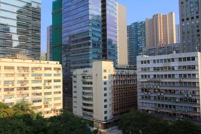Lai Chi Kok district. Hk royalty free stock photo