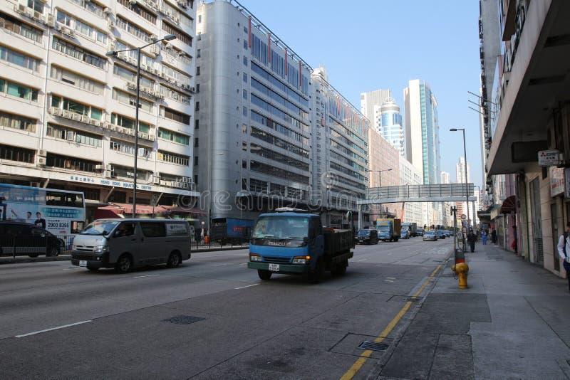Lai Chi Kok district. Ther Lai Chi Kok district hk royalty free stock photos