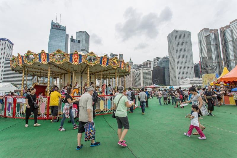Lai Yuen Super Summer 2015 imágenes de archivo libres de regalías