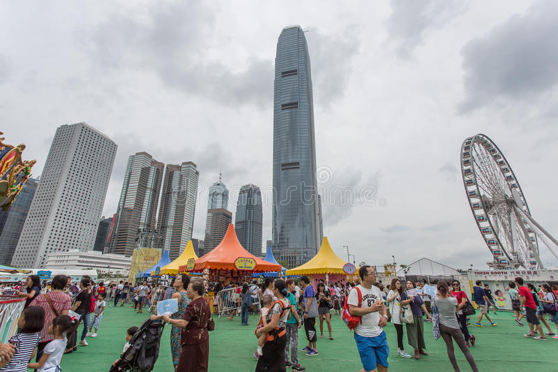 Lai Yuen Super Summer 2015 foto de archivo libre de regalías