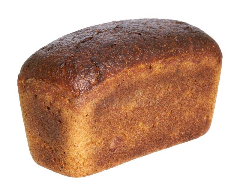 Laib des braunen Brotes stockbilder
