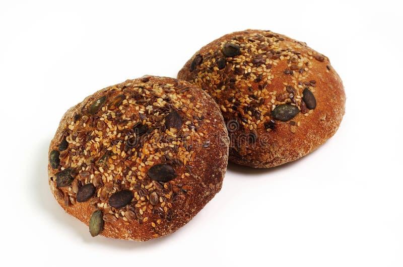 Laib zwei des Brotes stockbild
