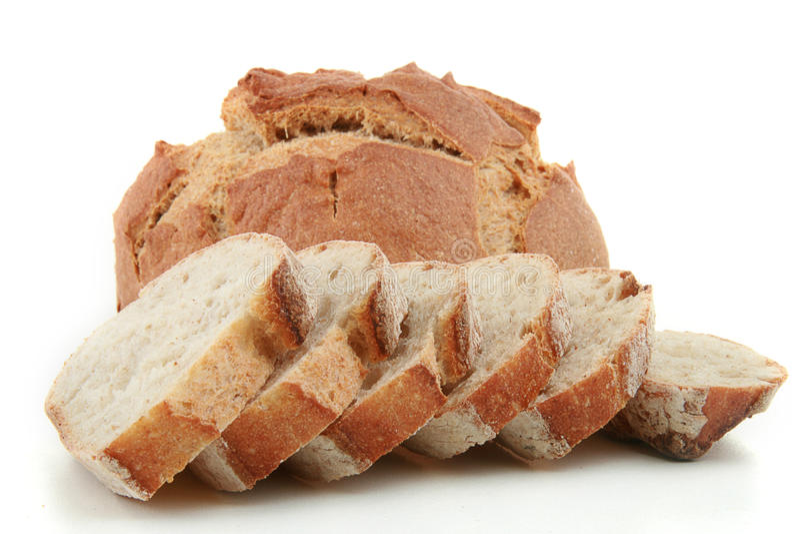 Laibe des Brotes stockfoto