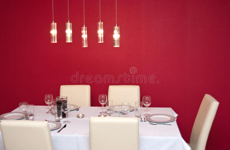 Download Laid and set table stock photo. Image of copy, culinary - 23786004