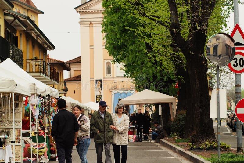Lainate city sunday scenery royalty free stock photo