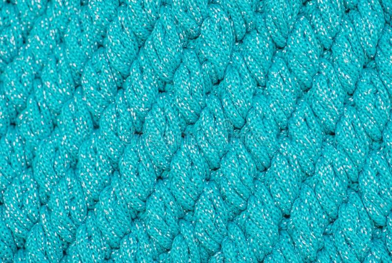 Laine de tricotage de modèle diagonal image stock