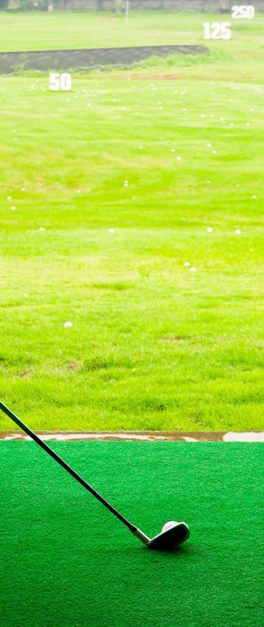 Laissé allez piloter le golf photographie stock