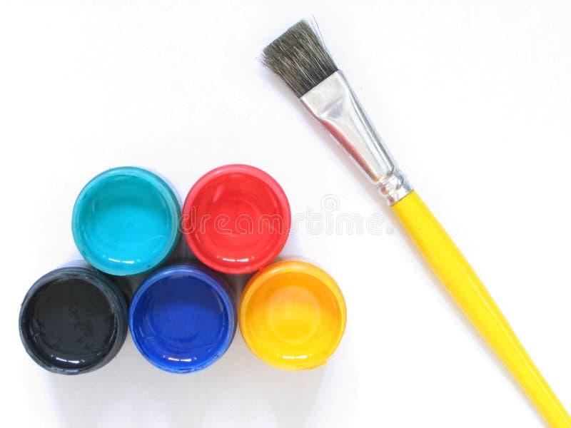 Laisse la peinture photos stock