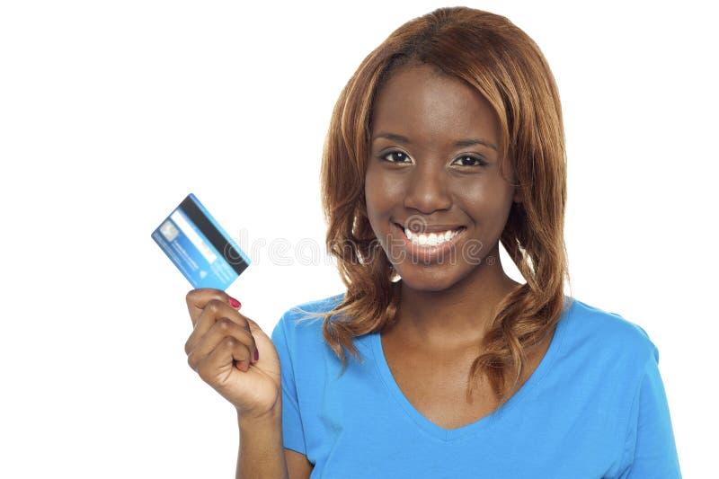 Laisse le système et échange le par la carte de crédit images libres de droits