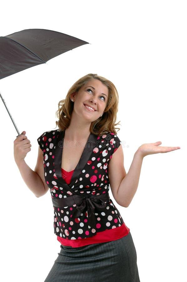 Laissez lui pleuvoir photo stock