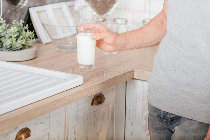 Lait de soja sain de mode de vie de laitages photo stock