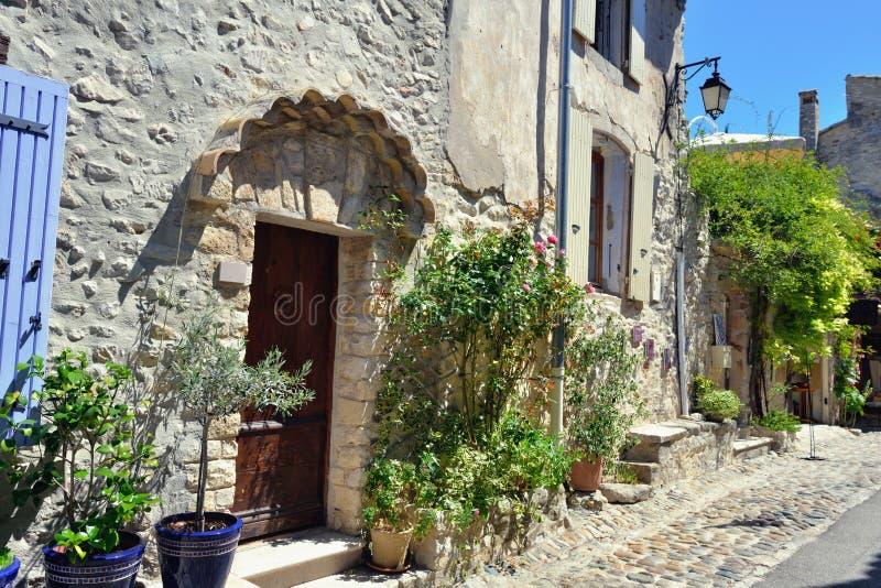 Laitue romaine de La de Vaison, Provence photos libres de droits