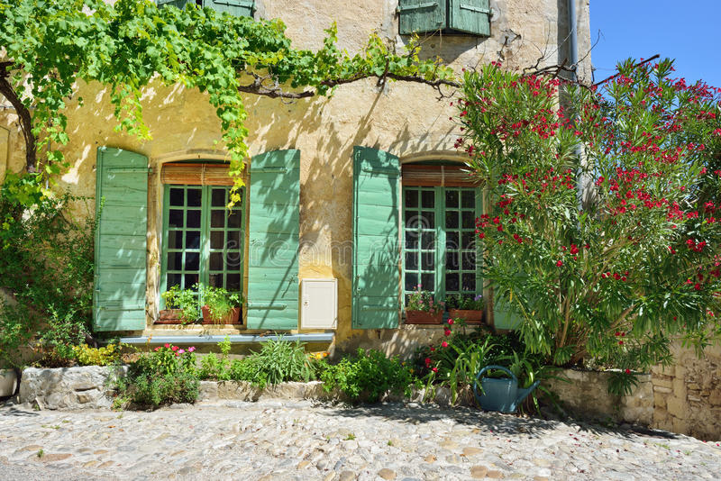 Laitue romaine de La de Vaison, Provence, France photos libres de droits
