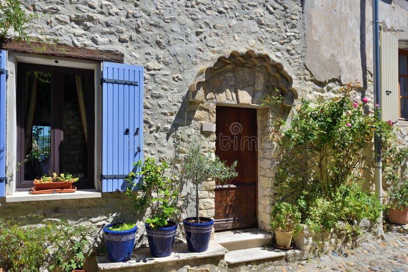 Laitue romaine de La de Vaison, Provence image libre de droits