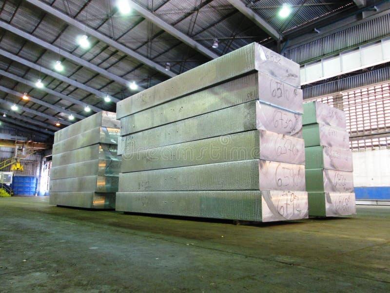 Laje de alumínio imagem de stock