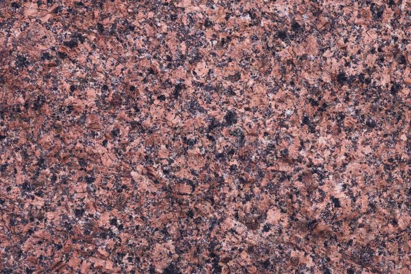 Laje de mármore moderna do granito Textura alaranjada e preta, teste padrão mineral Grunge, parede marrom de quartzo, superfície  foto de stock royalty free