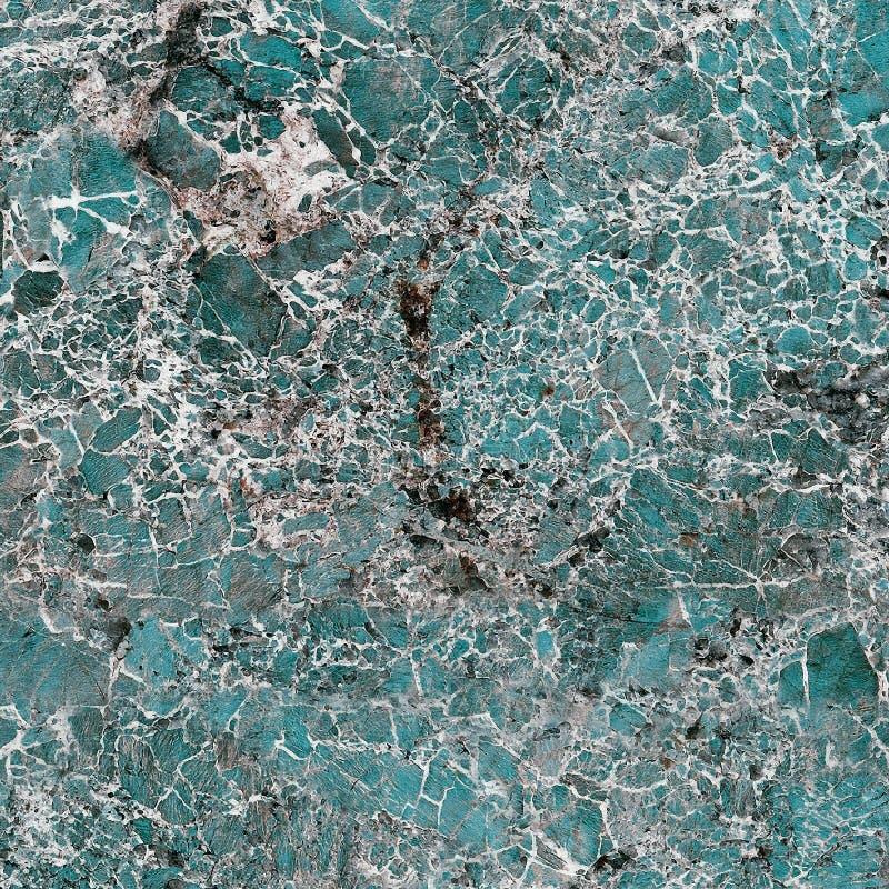 Laje natural do mármore da cor do aqua foto de stock