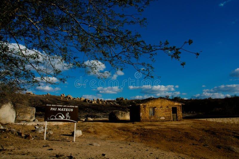 Lajedo de Pai Mateus fotografia stock libera da diritti
