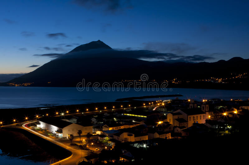 Lajes do Pico village royalty free stock images