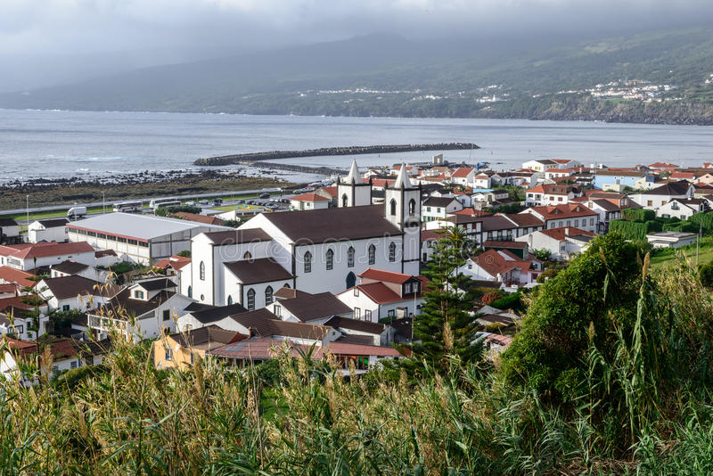 Lajes, Pico island, Azores archipelago (Portugal). Lajes do Pico, Pico island, Azores archipelago (Portugal stock photos