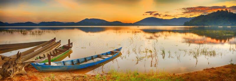 Lak湖 免版税图库摄影