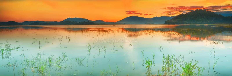 Lak湖 免版税库存照片