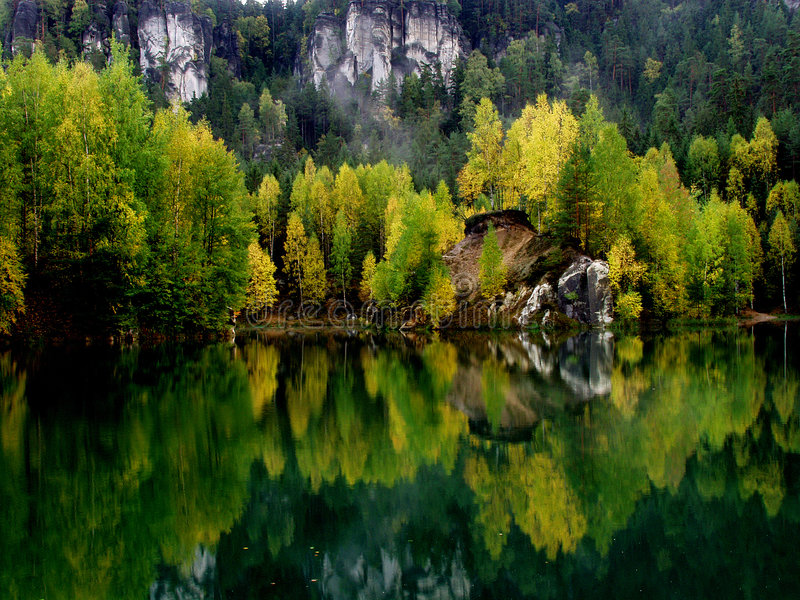 Download Lake 1 stock photo. Image of autumny, fall, forest, autumn - 6516696