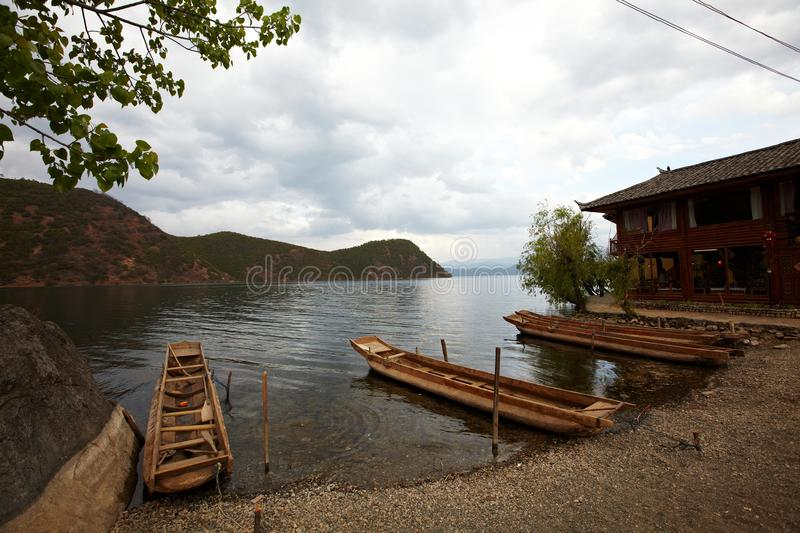 Download Lake stock image. Image of distant, peaceful, northlan - 20364419