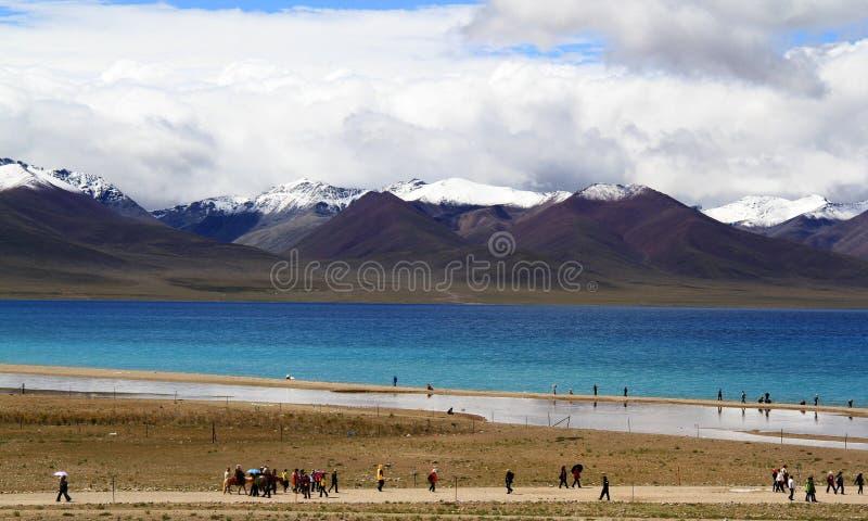 Download Lake stock photo. Image of tibet, closest, plateau, namuzo - 27174640