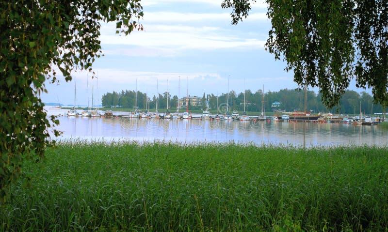 Lake. fotografering för bildbyråer