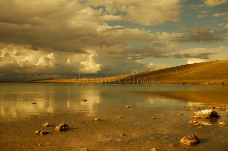 Lake 8 stock image