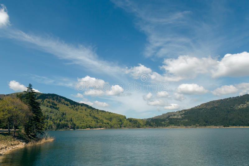 Lake Abant royalty free stock photo