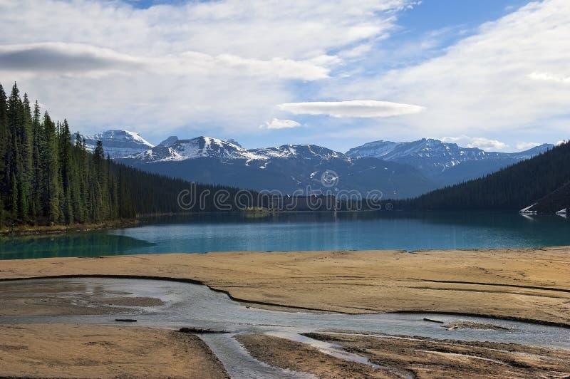 Download Lake Agnes stock image. Image of scenery, alberta, nature - 23068725