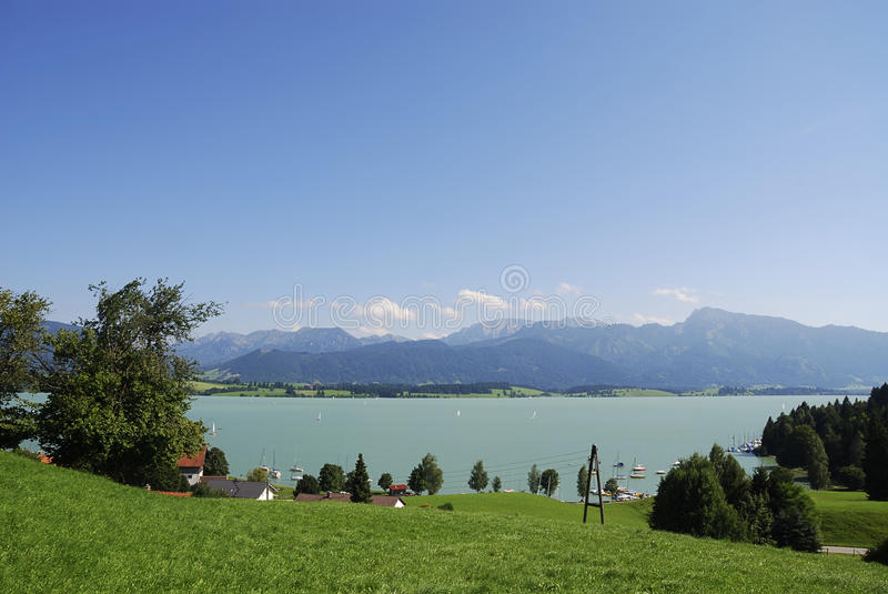 Download Lake in the Alps stock photo. Image of idyll, lake, landscape - 16487848