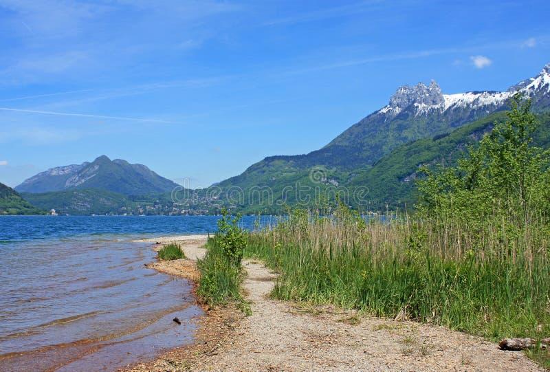 lake annecy obraz royalty free