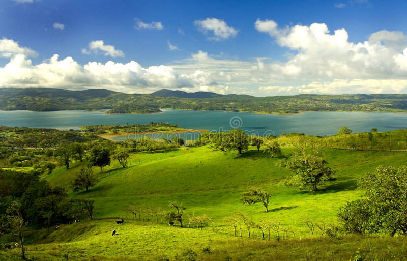 Lake Arenal - Costa Rica 2 stock photography