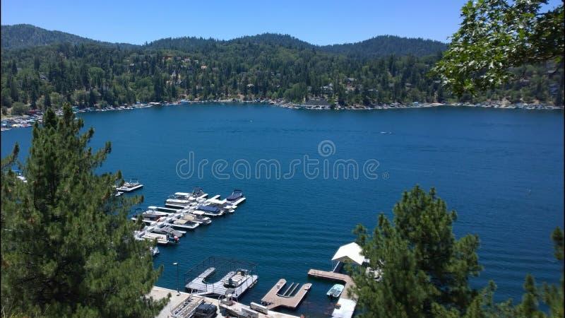 Lake Arrowhead California. Lake Arrowhead, near San Bernardino, CA stock image