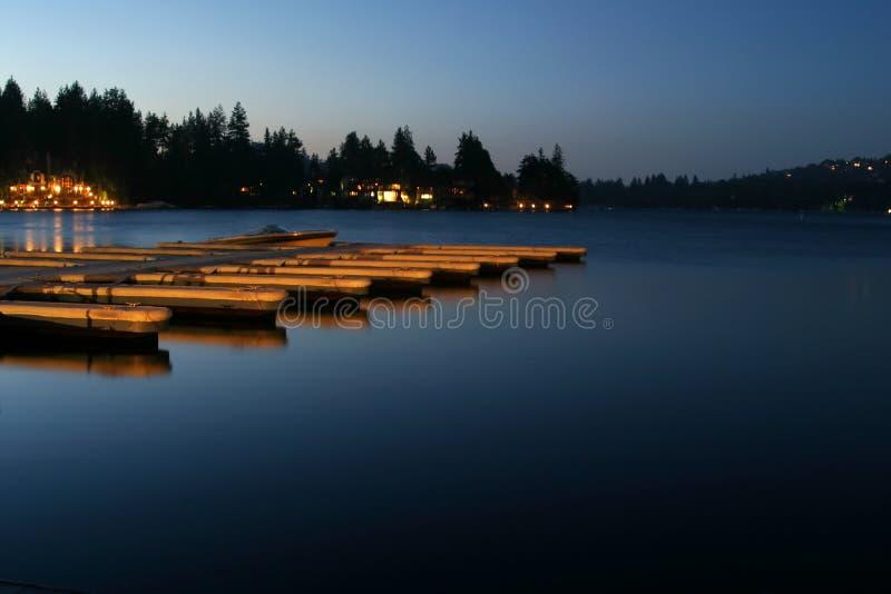 Download Lake Arrowhead Dock Royalty Free Stock Photo - Image: 517765