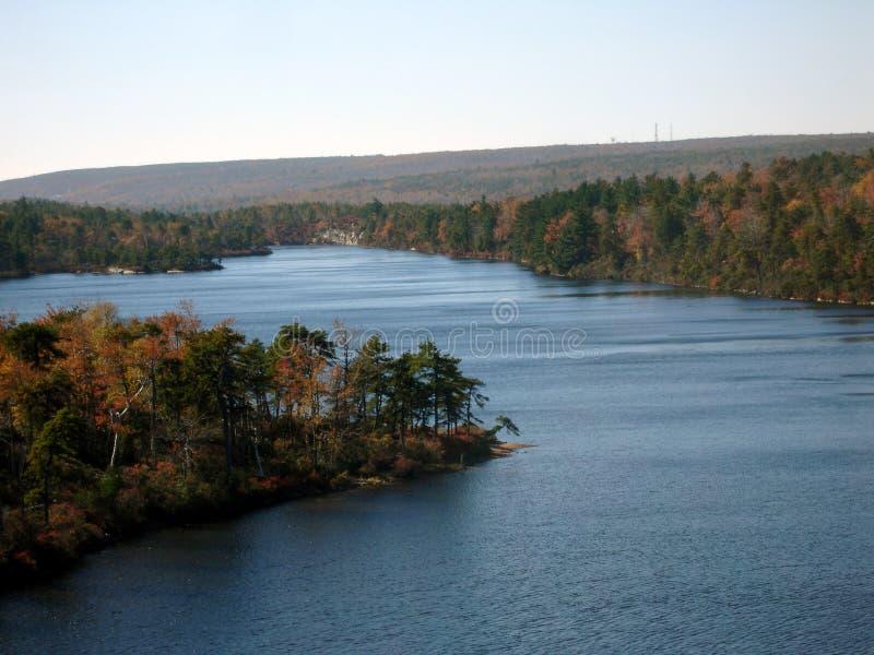 Lake Awosting stock photo