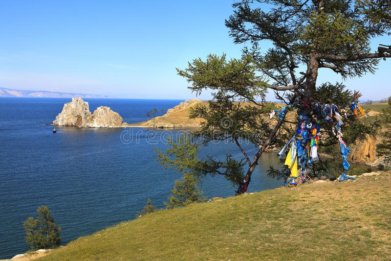Lake Baikal. Летний день стоковые фотографии rf