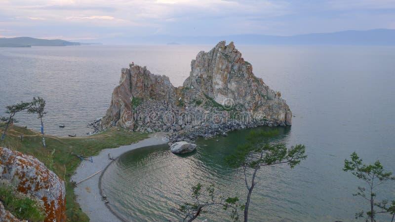 The lake Baikal stock photography