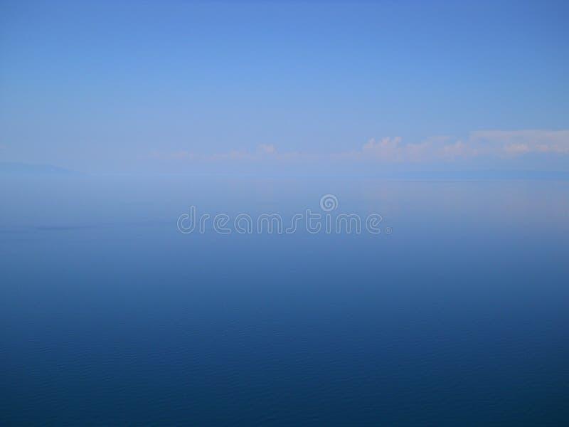 The lake of Baikal stock image