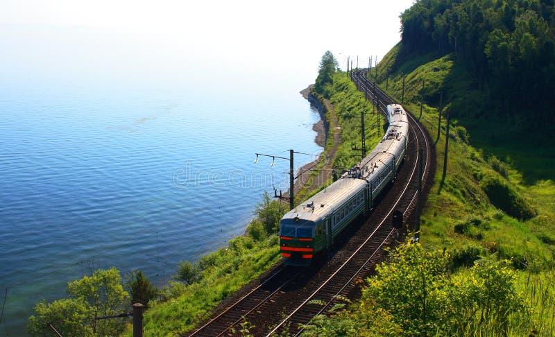Lake Baikal, Russia. Russia. The southern shore of Lake Baikal royalty free stock photography